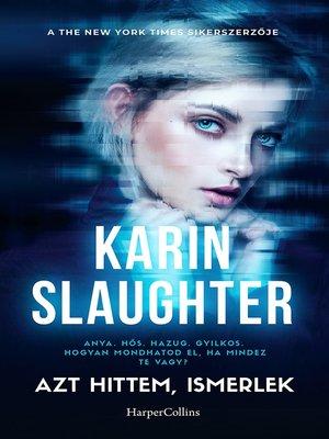 cover image of Azt hittem ismerlek