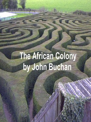 cover image of The African Colony
