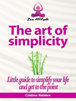 cover image of The art of simplicity
