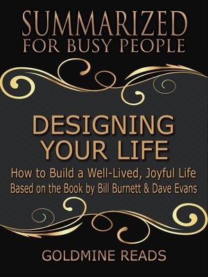 cover image of Designing Your Life - Summarized for Busy People