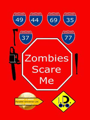 cover image of Zombies Scare Me