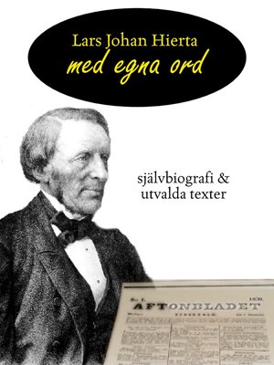 cover image of Lars Johan Hierta - Med egna ord