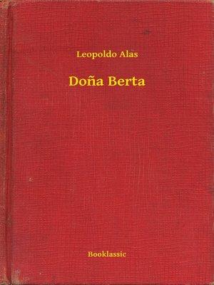 cover image of Dona Berta