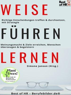 cover image of Weise Führen Lernen