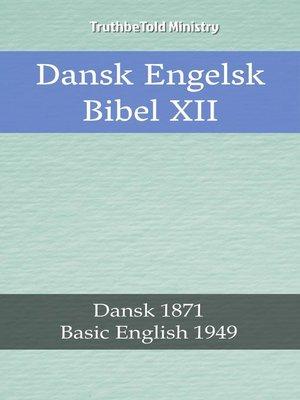 cover image of Dansk Engelsk Bibel XII