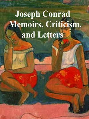 cover image of Memoirs, Criticism, and Letters