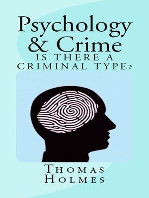 cover image of Psychology and Crime