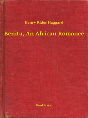 cover image of Benita, an African Romance