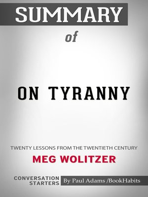 cover image of Summary of On Tyranny