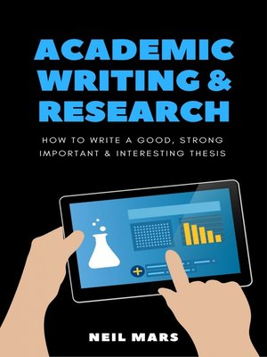 cover image of Academic Writing & Research