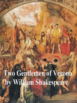 cover image of Two Gentlemen of Verona, with line numbers