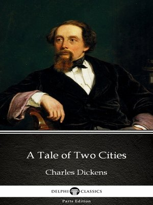 cover image of A Tale of Two Cities by Charles Dickens (Illustrated)