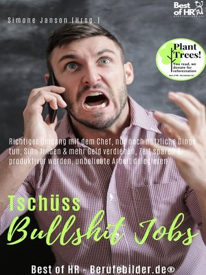 cover image of Tschüss Bullshit Jobs