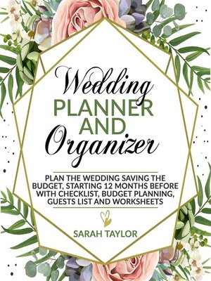 cover image of Wedding Planner and Organizer