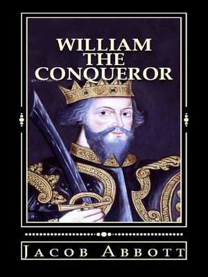 cover image of William the Conqueror