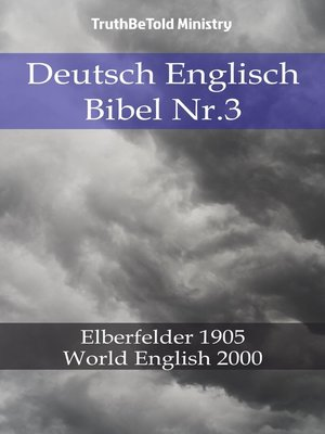 cover image of Deutsch Englisch Bibel Nr.3
