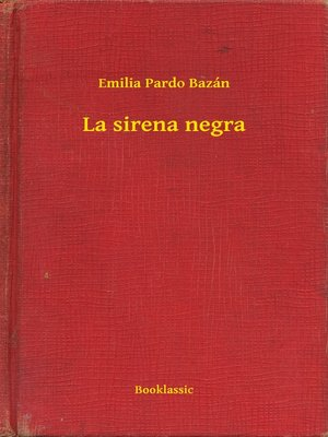 cover image of La sirena negra