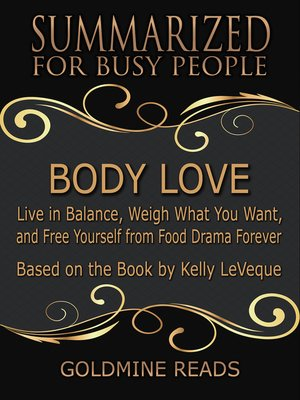 cover image of Body Love - Summarized for Busy People