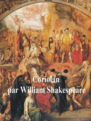 cover image of Coriolan, Coriolanus in French