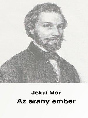 cover image of Az arany ember