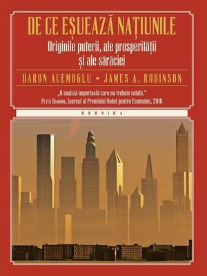 cover image of De ce eșuează națiunile. Originile puterii, ale prosperității și ale sărăciei