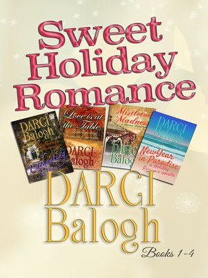 cover image of Sweet Holiday Romance Books 1 - 4
