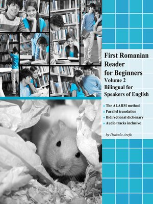 cover image of First Romanian Reader for Beginners Volume 2