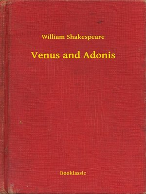 cover image of Venus and Adonis