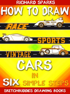 cover image of How to Draw Cars in Six Simple Steps