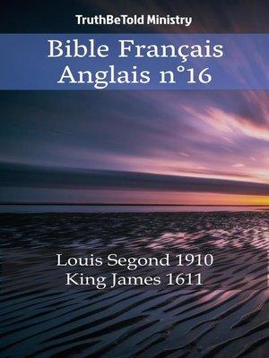cover image of Bible Français Anglais n°16