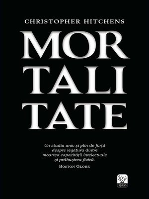 cover image of Mortalitate