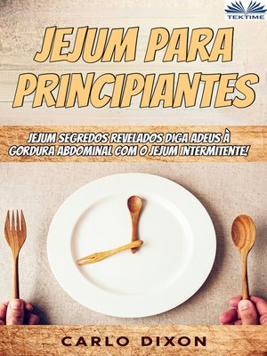 cover image of Jejum Para Principiantes