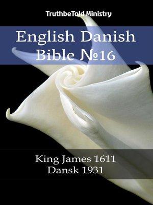 cover image of English Danish Bible №16