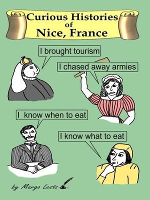 cover image of Curious Histories of Nice, France