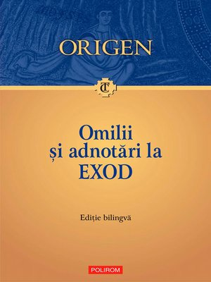 cover image of Omilii și adnotări la Exod