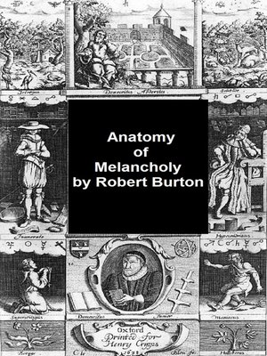 the anatomy of melancholy epub