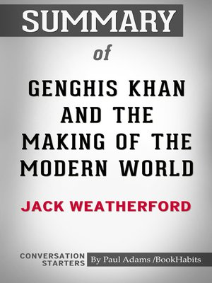 cover image of Summary of Genghis Khan and the Making of the Modern World