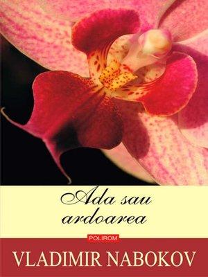 cover image of Ada sau ardoarea