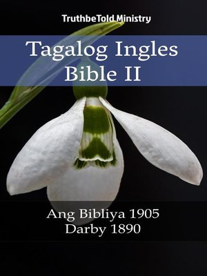 cover image of Tagalog Ingles Bible II