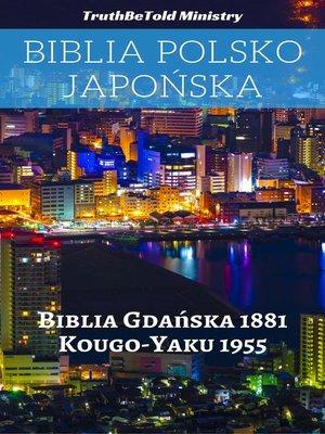 cover image of Biblia Polsko Japońska