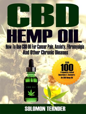 cover image of CBD Hemp oil