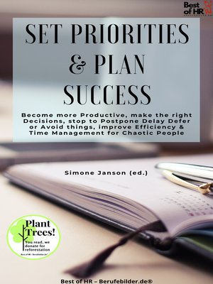 cover image of Set Priorities & Plan Success