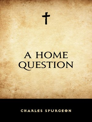 cover image of A Home Question