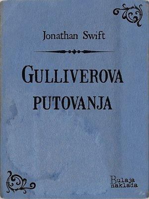 cover image of Gulliverova putovanja