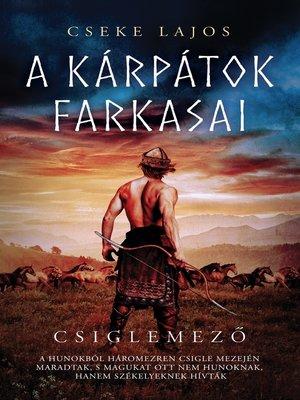 cover image of Csiglemező