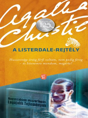 cover image of A Listerdale-rejtély