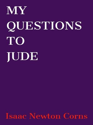 cover image of My Questions to Jude