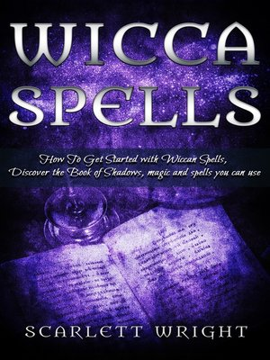 cover image of Wicca Spells
