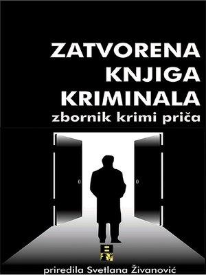 cover image of Zatvorena knjiga kriminala