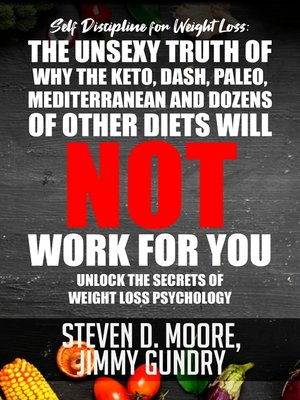 cover image of Self Discipline for Weight Loss: The Unsexy Truth of Why the Keto, Dash, Paleo, Mediterranean and Dozens of other Diets will NOT Work for You